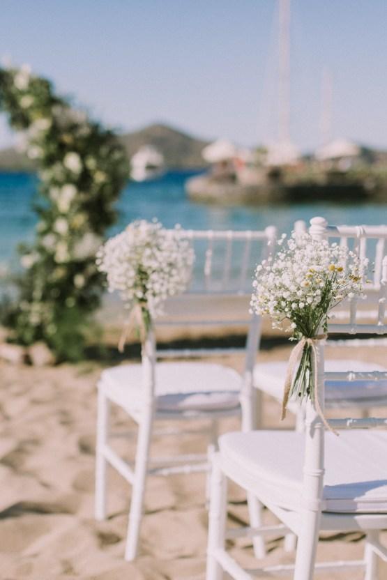 Boho Greek Island Wedding Featuring A Circle Floral Arch – Paulina Weddings 8