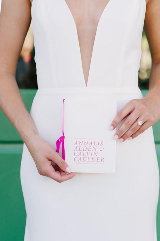 Elegant Fuchsia Wedding Inspiration in Charleston – Carrie Joy Photography – Detailed I Dos 15