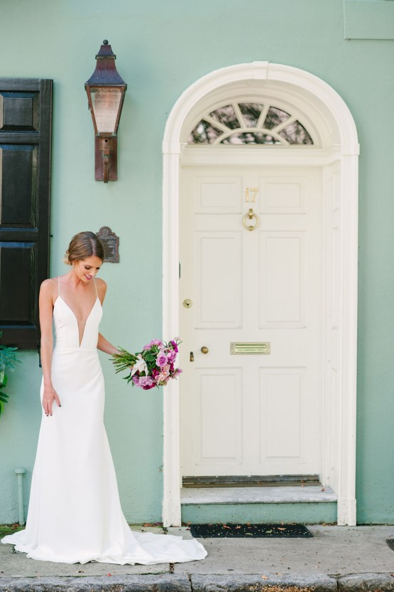 Elegant Fuchsia Wedding Inspiration in Charleston – Carrie Joy Photography – Detailed I Dos 24