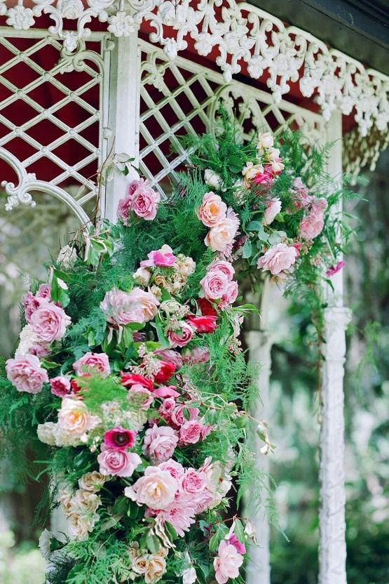 Elegant Fuchsia Wedding Inspiration in Charleston – Carrie Joy Photography – Detailed I Dos 39