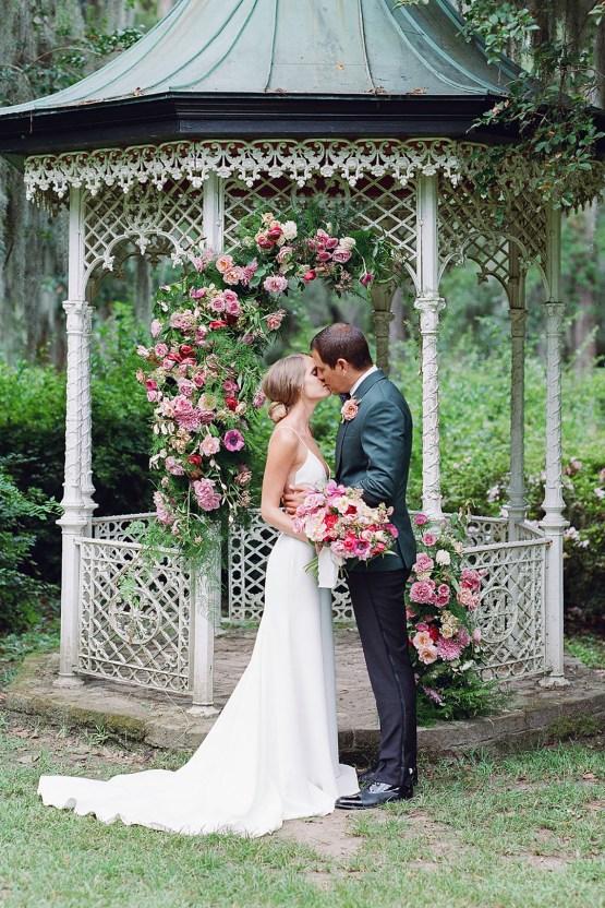 Elegant Fuchsia Wedding Inspiration in Charleston – Carrie Joy Photography – Detailed I Dos 42