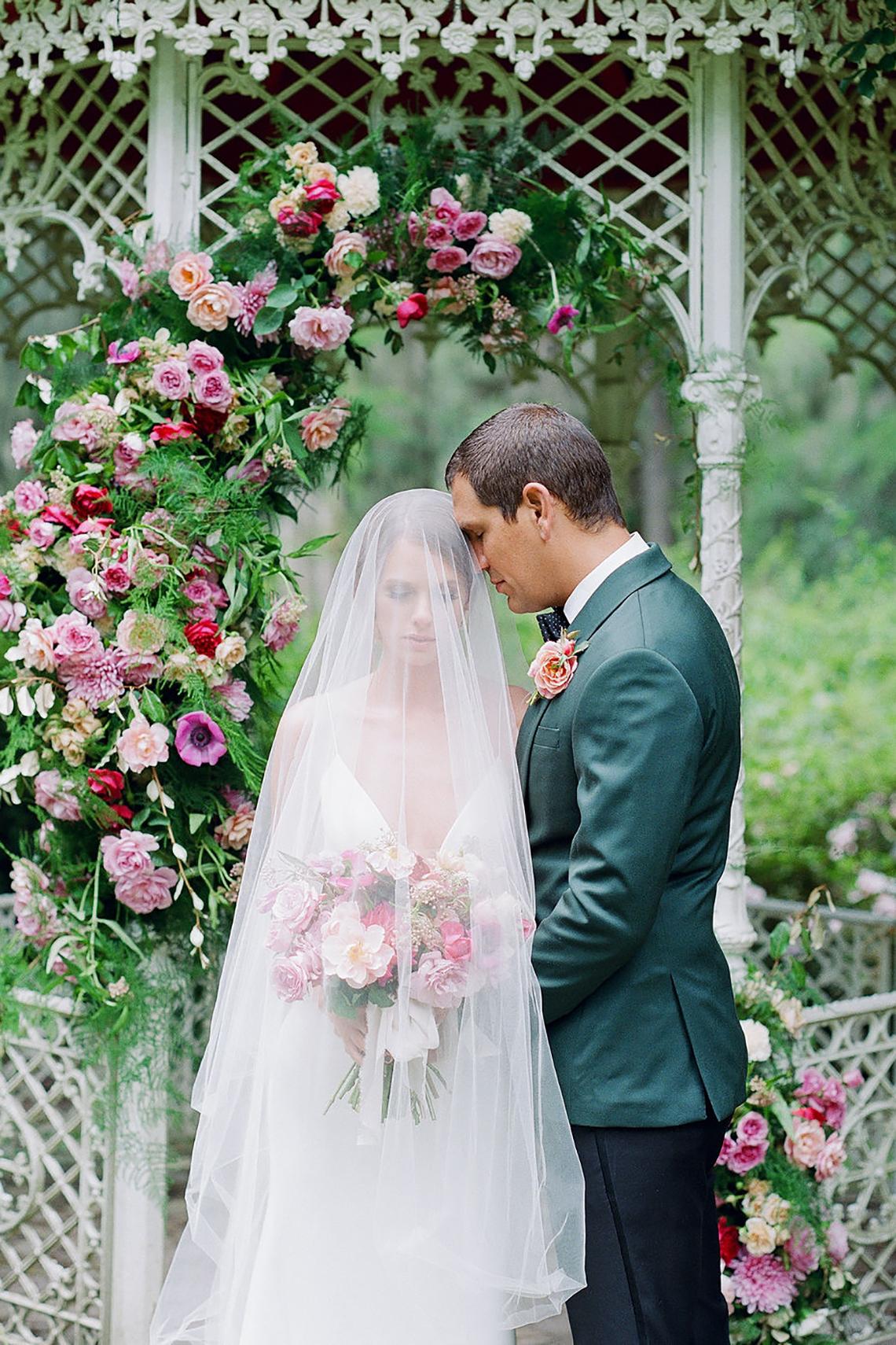 Elegant Fuchsia Wedding Inspiration in Charleston – Carrie Joy Photography – Detailed I Dos 44