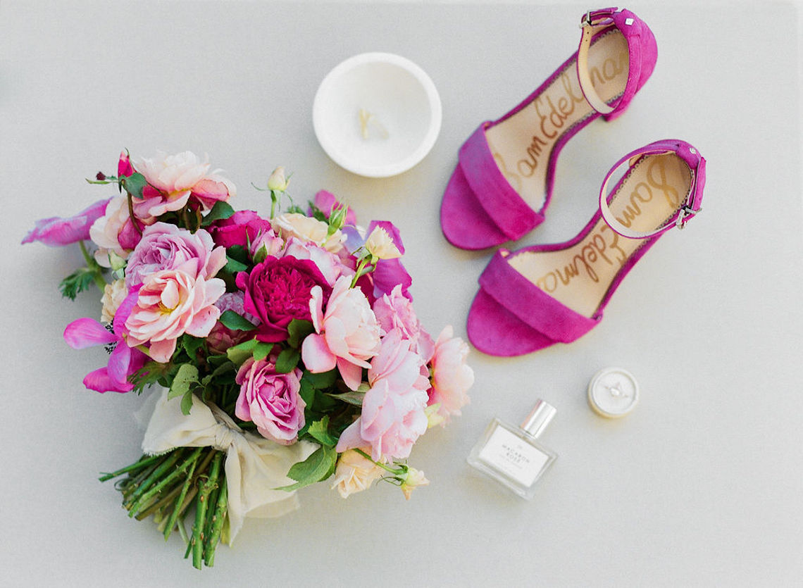 Elegant Fuchsia Wedding Inspiration in Charleston – Carrie Joy Photography – Detailed I Dos 47