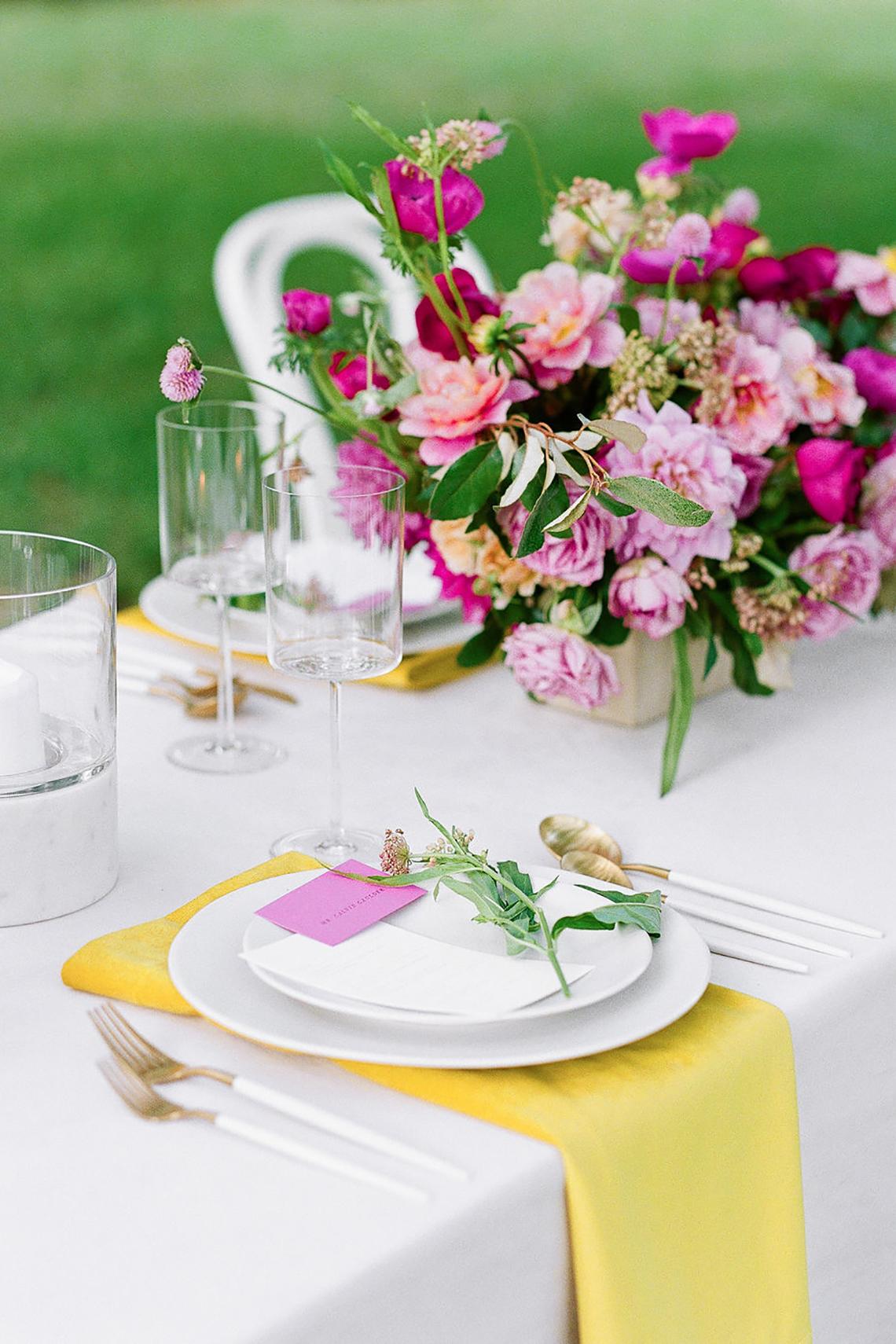 Elegant Fuchsia Wedding Inspiration in Charleston – Carrie Joy Photography – Detailed I Dos 49