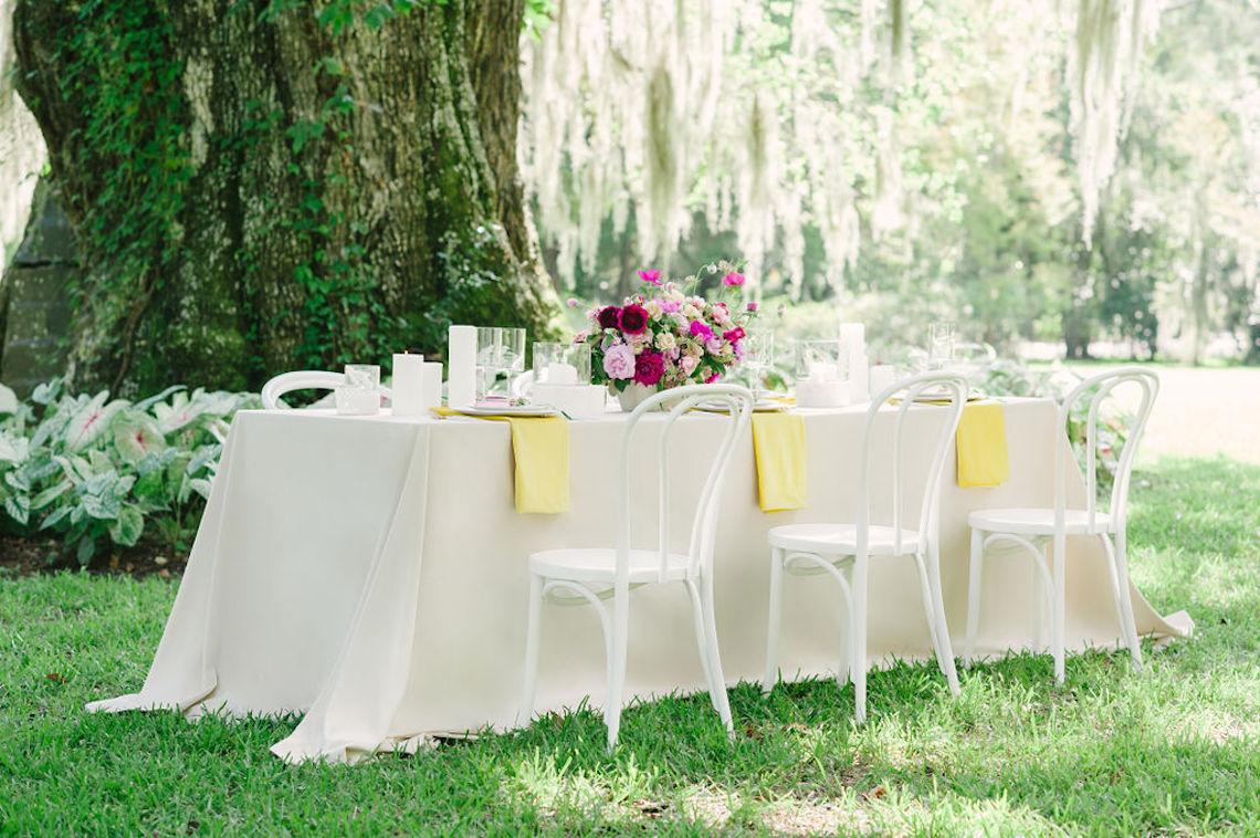 Elegant Fuchsia Wedding Inspiration in Charleston – Carrie Joy Photography – Detailed I Dos 53