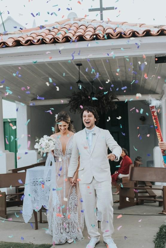 Epic Bohemian Wedding On A Tiny Brazilian Island – Val e Wander Fotografia 14