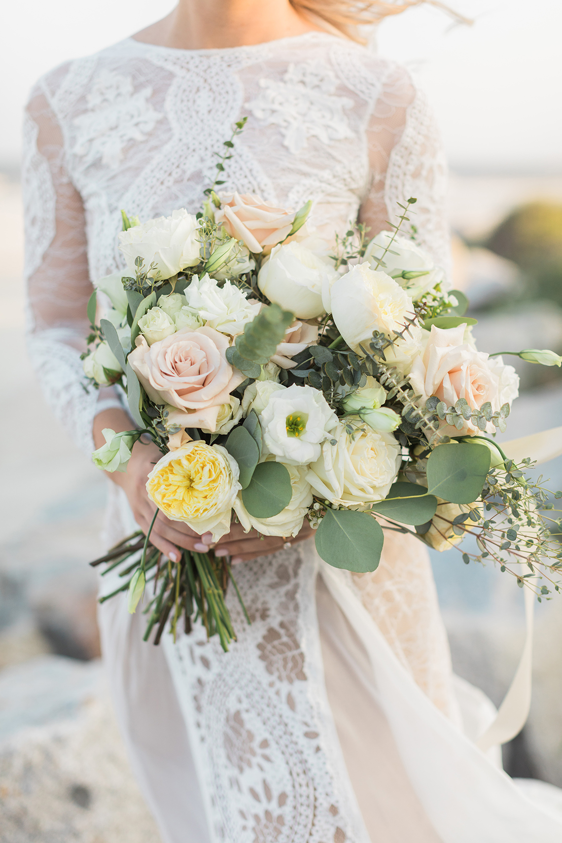 Intimate Southern Boho Beach Wedding in Charleston – Ava Moore Photography 51