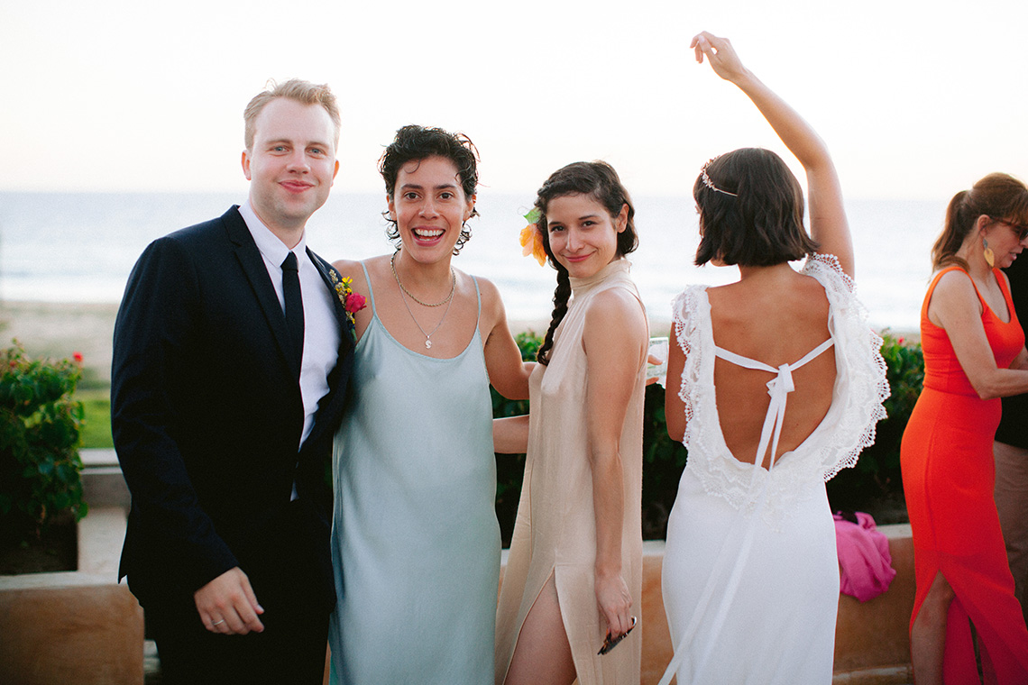 Real Bride Diary – Wildly Fun and Intimate Baja Beach Wedding of Claire Eliza and Jack – Corinne Graves 25