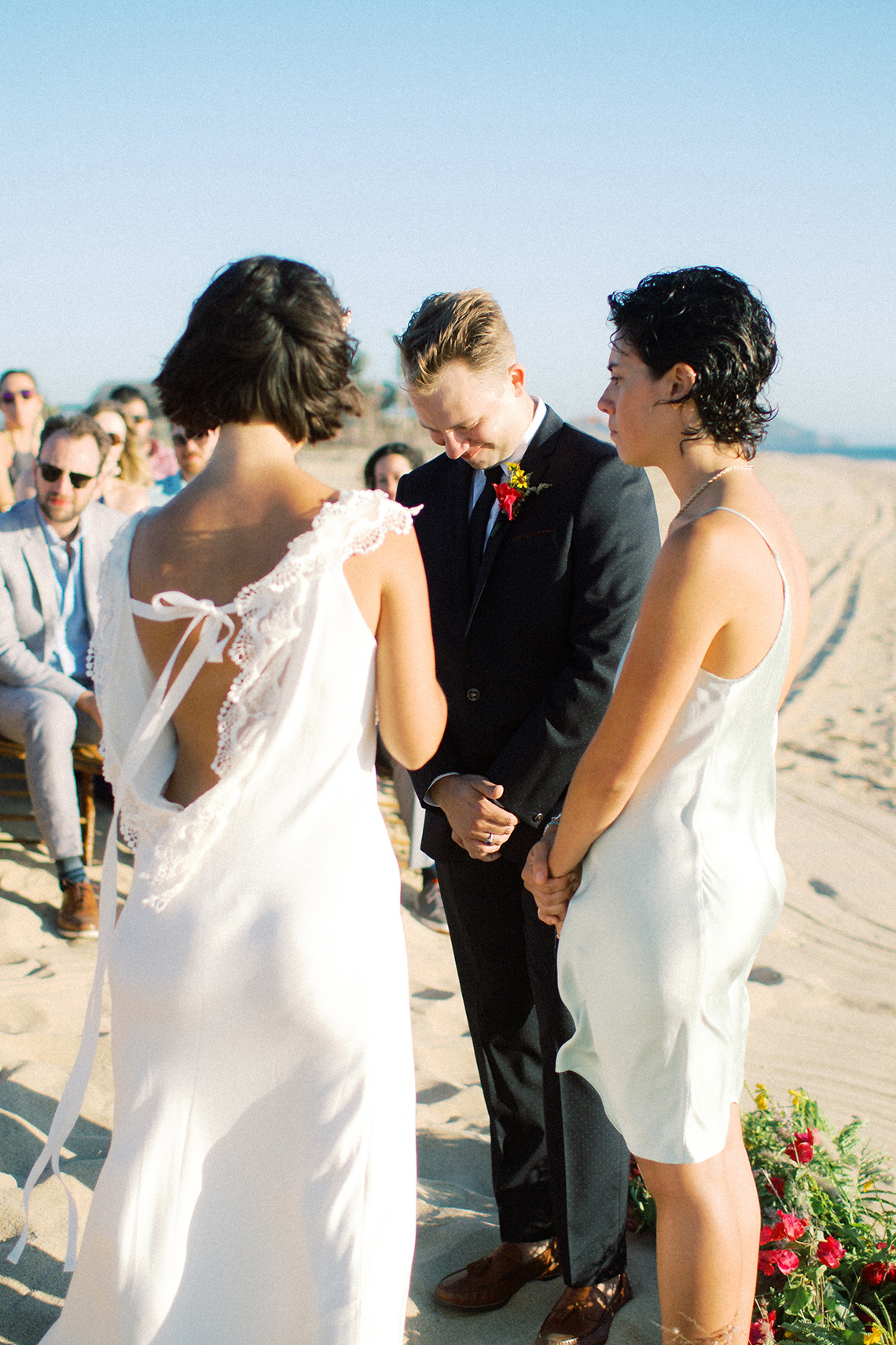 Real Bride Diary – Wildly Fun and Intimate Baja Beach Wedding of Claire Eliza and Jack – Corinne Graves 62