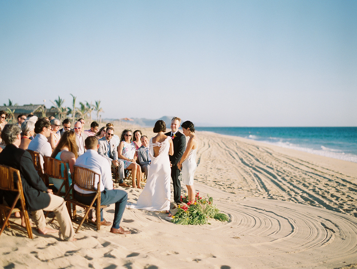 Real Bride Diary – Wildly Fun and Intimate Baja Beach Wedding of Claire Eliza and Jack – Corinne Graves 7