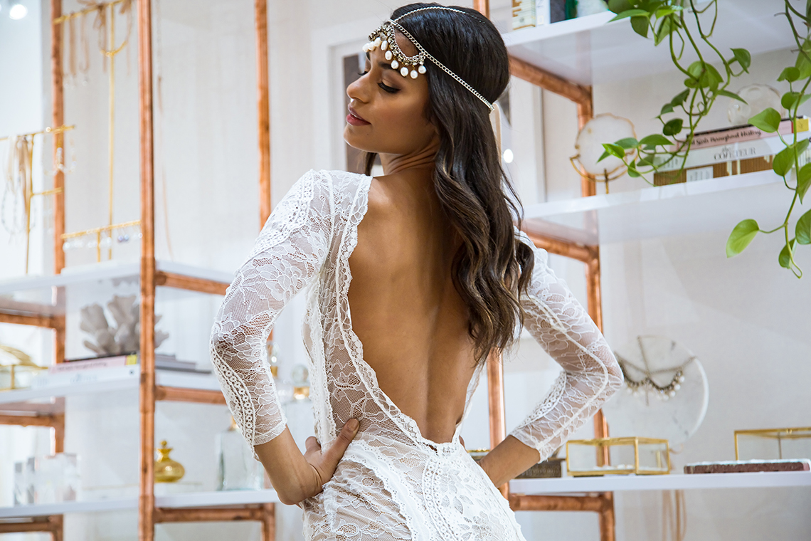 10 Reasons You Should Shop for Your Wedding Dress at The Grace Loves Lace NYC Boutique – Inca Gown 2