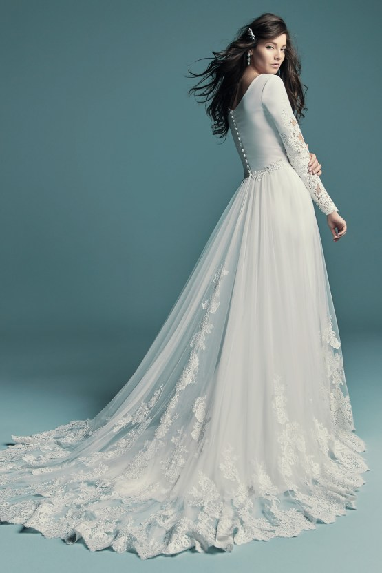 Dream Maggie Sottero Long Sleeve Wedding Dresses – Maggie Sottero Olyssia 2