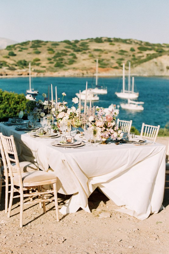Luxurious Wedding Inspiration From An Ancient Greek Chapel – Nina Wernicke 27