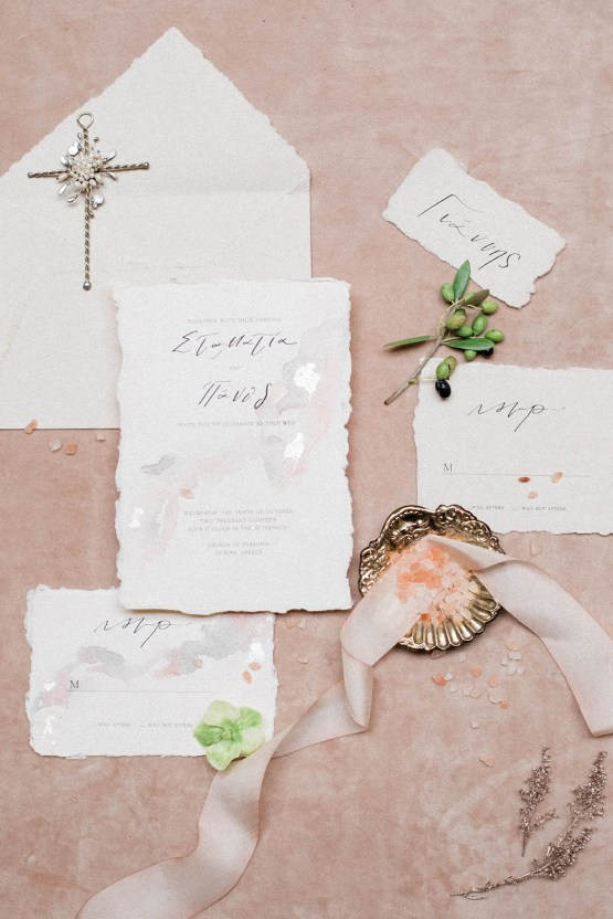 Luxurious Wedding Inspiration From An Ancient Greek Chapel – Nina Wernicke 36
