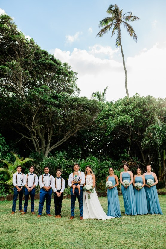 Playful and Intimate North Shore Oahu Beach Wedding – Chelsea Stratso Photography 20
