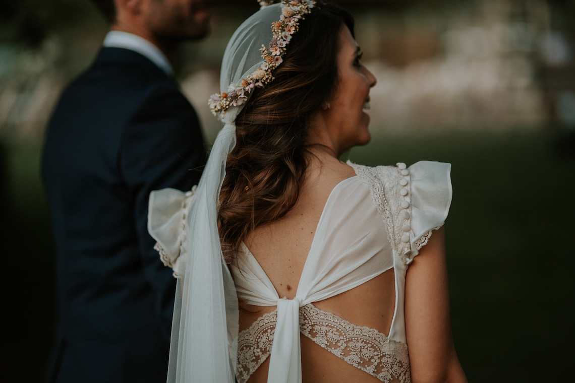 Romantic and Fashionable Spanish Boho Wedding – Javier Berenguer 10