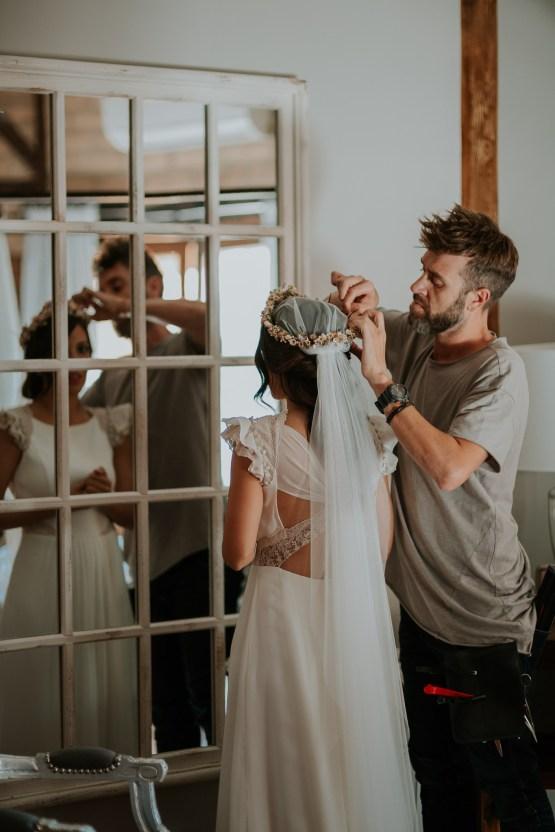 Romantic and Fashionable Spanish Boho Wedding – Javier Berenguer 19