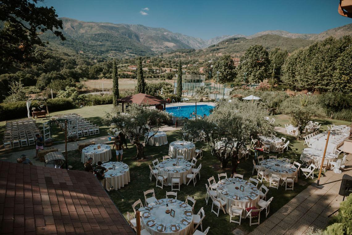Romantic and Fashionable Spanish Boho Wedding – Javier Berenguer 2