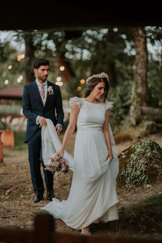 Romantic and Fashionable Spanish Boho Wedding – Javier Berenguer 37