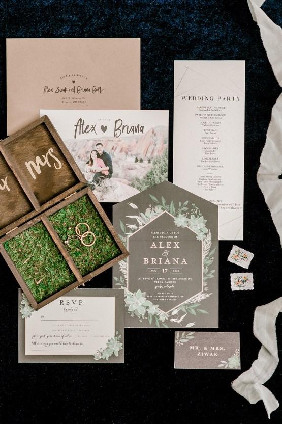 Rustic Succulent Filled Colorado Wedding With A Pretzel Bar – Sara Lynn 2