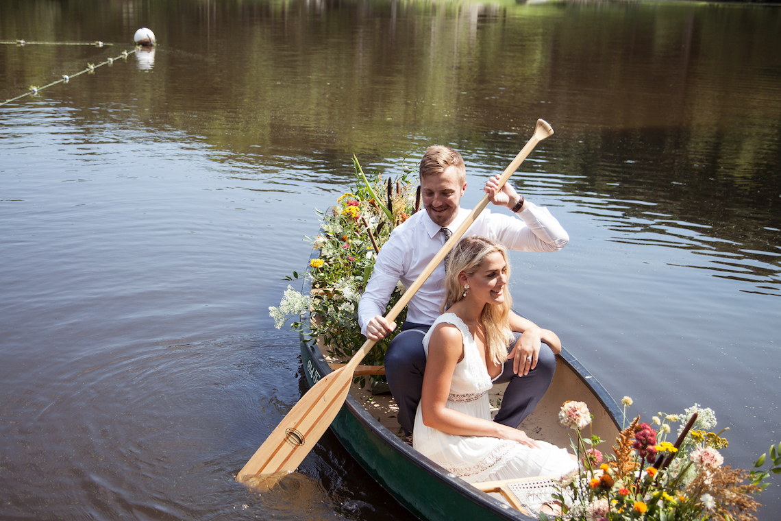 Wildflower Elopement In The Middle Of A Lake – White Poppy Weddings 7