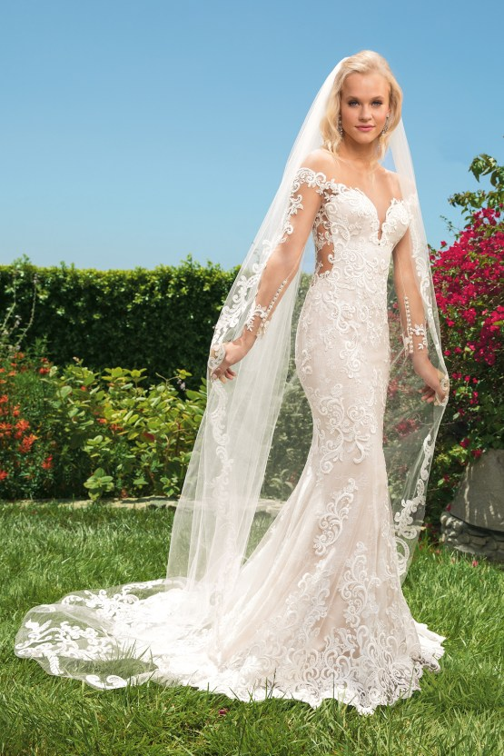 6 Stunning Lace Wedding Dresses By Casablanca Bridal – 2356 Madelyn-FRONT
