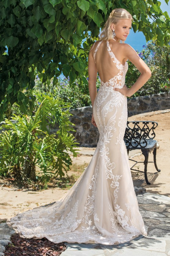 6 Stunning Lace Wedding Dresses By Casablanca Bridal – 2360 Josephine-BACK