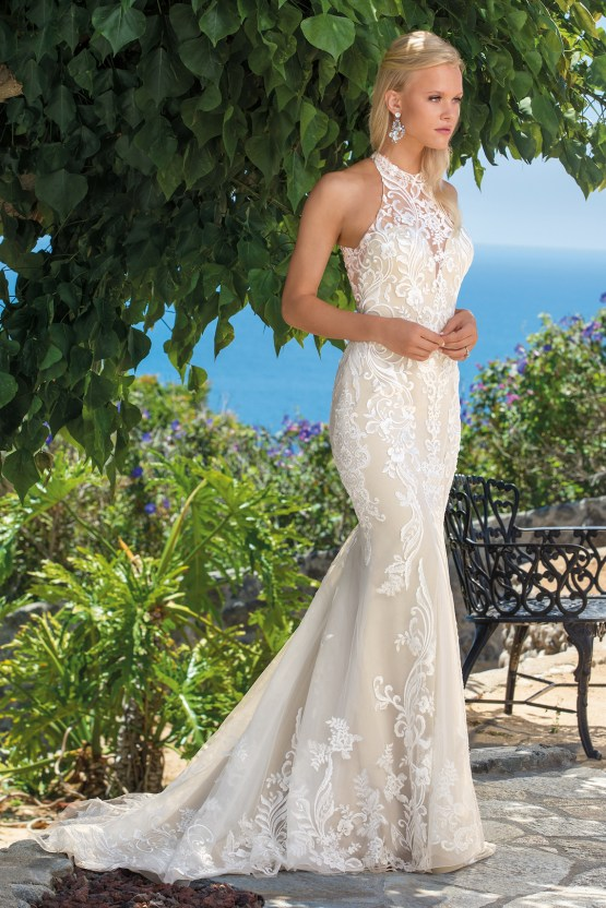 6 Stunning Lace Wedding Dresses By Casablanca Bridal – 2360 Josephine-FRONT