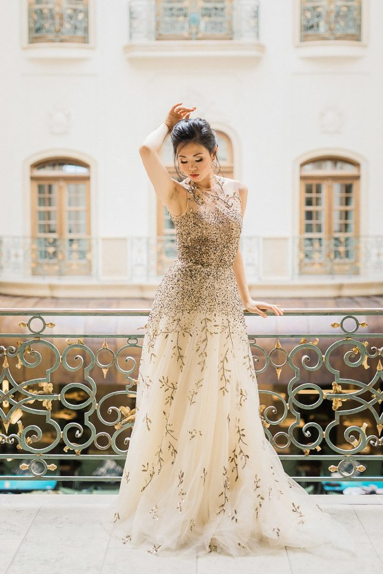 A Dramatic Gold Wedding Dress for the Goddess Bride – Vivid Symphony 18
