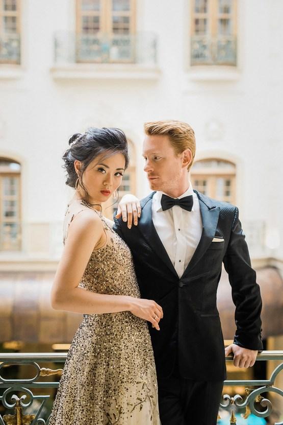 A Dramatic Gold Wedding Dress for the Goddess Bride – Vivid Symphony 23