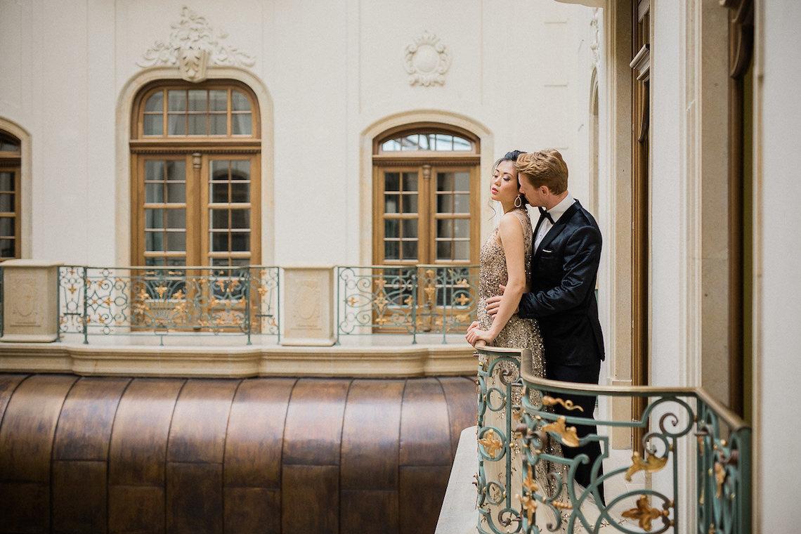 A Dramatic Gold Wedding Dress for the Goddess Bride – Vivid Symphony 3