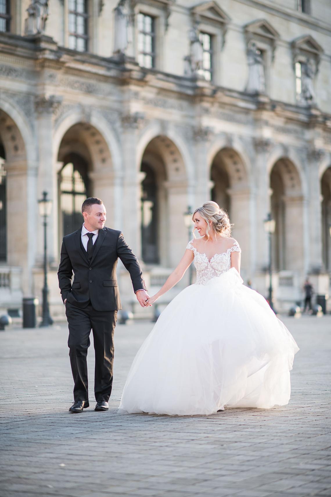 An Enchanting Fairytale Paris Elopement – Claire Morris Photography 39