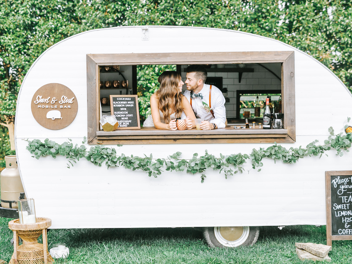 Eclectic Detail-filled Ohio Farm Wedding with a Donut Wall and Espresso Cart – Mandy Ford Photography 1