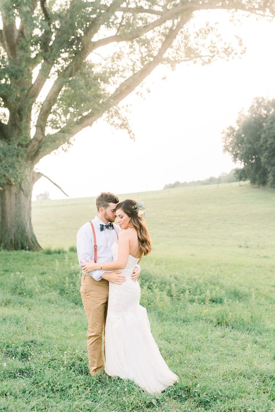 Eclectic Detail-filled Ohio Farm Wedding with a Donut Wall and Espresso Cart – Mandy Ford Photography 28