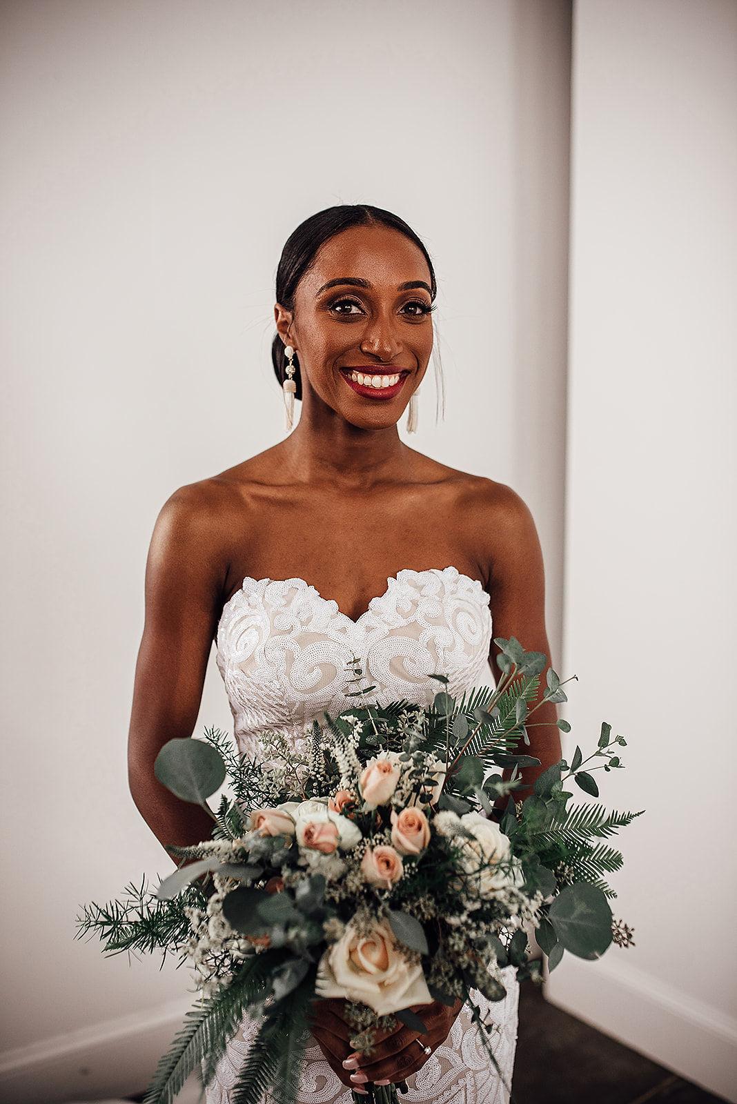 Glamorous and Industrial North Carolina Loft Wedding – Three Region Photography 11