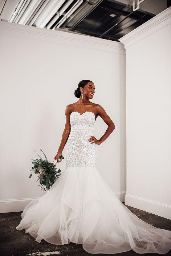 Glamorous and Industrial North Carolina Loft Wedding – Three Region Photography 12