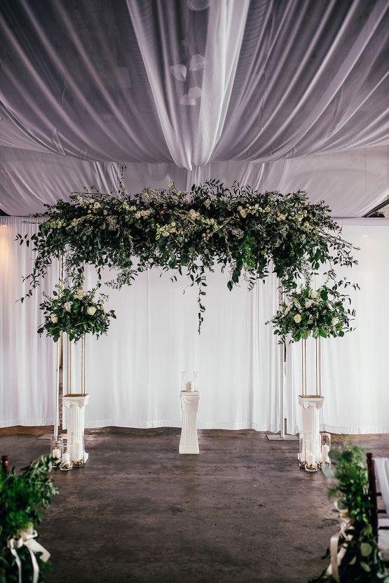 Glamorous and Industrial North Carolina Loft Wedding – Three Region Photography 18