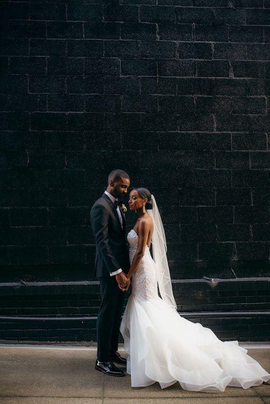 Glamorous and Industrial North Carolina Loft Wedding – Three Region Photography 25