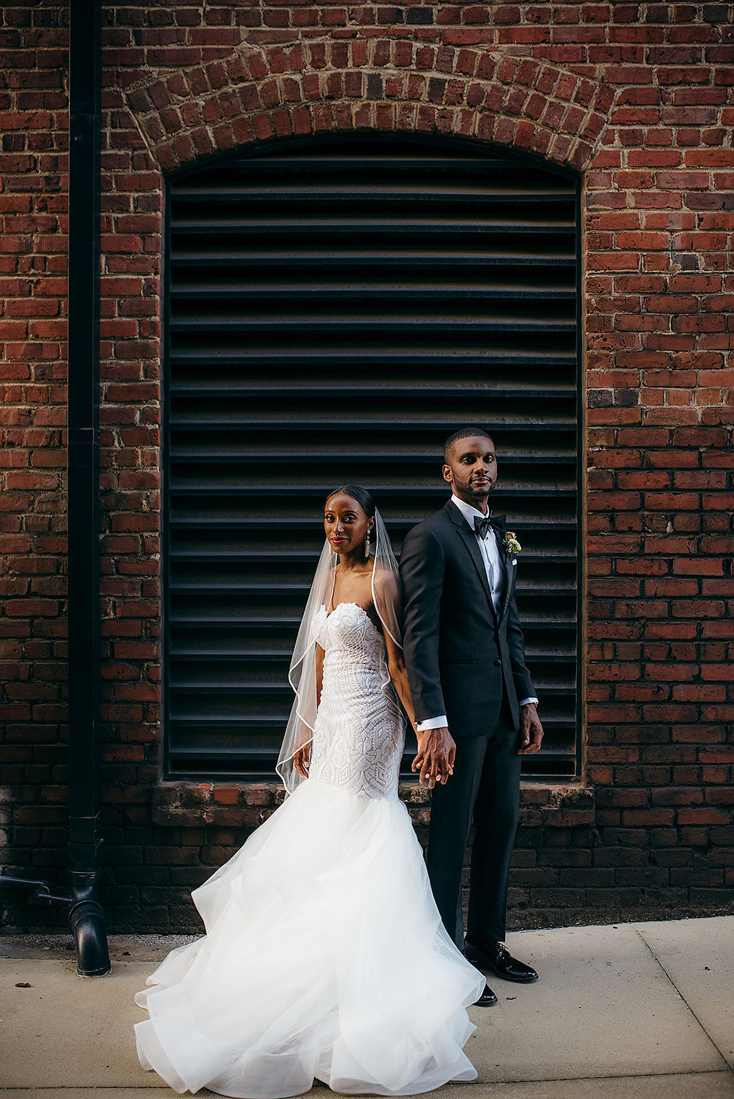 Glamorous and Industrial North Carolina Loft Wedding – Three Region Photography 26