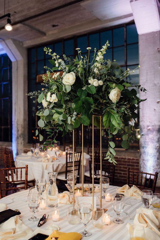 Glamorous and Industrial North Carolina Loft Wedding – Three Region Photography 32