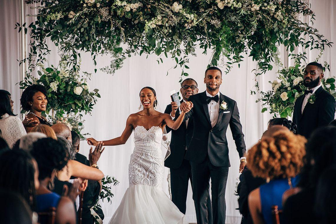 Glamorous and Industrial North Carolina Loft Wedding – Three Region Photography 36