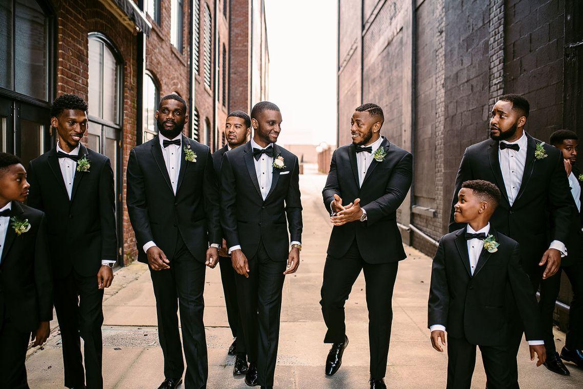 Glamorous and Industrial North Carolina Loft Wedding – Three Region Photography 39