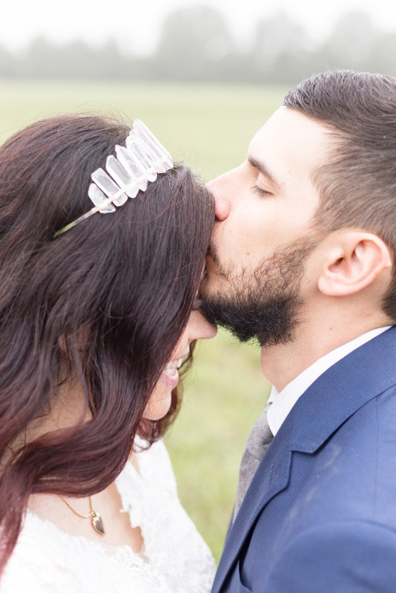 Misty Romantic Breakfast Wedding with Waffles – Cindy and Emily Photography 15