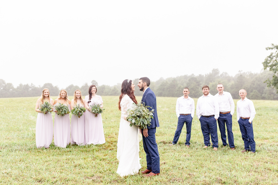 Misty Romantic Breakfast Wedding with Waffles – Cindy and Emily Photography 2