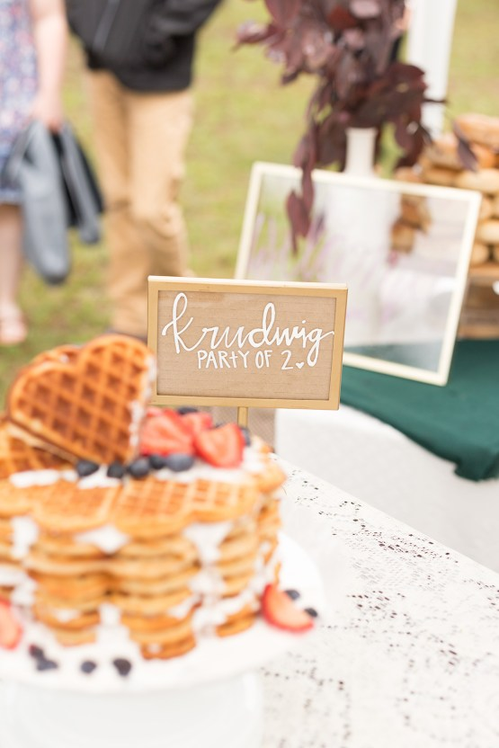 Misty Romantic Breakfast Wedding with Waffles – Cindy and Emily Photography 21