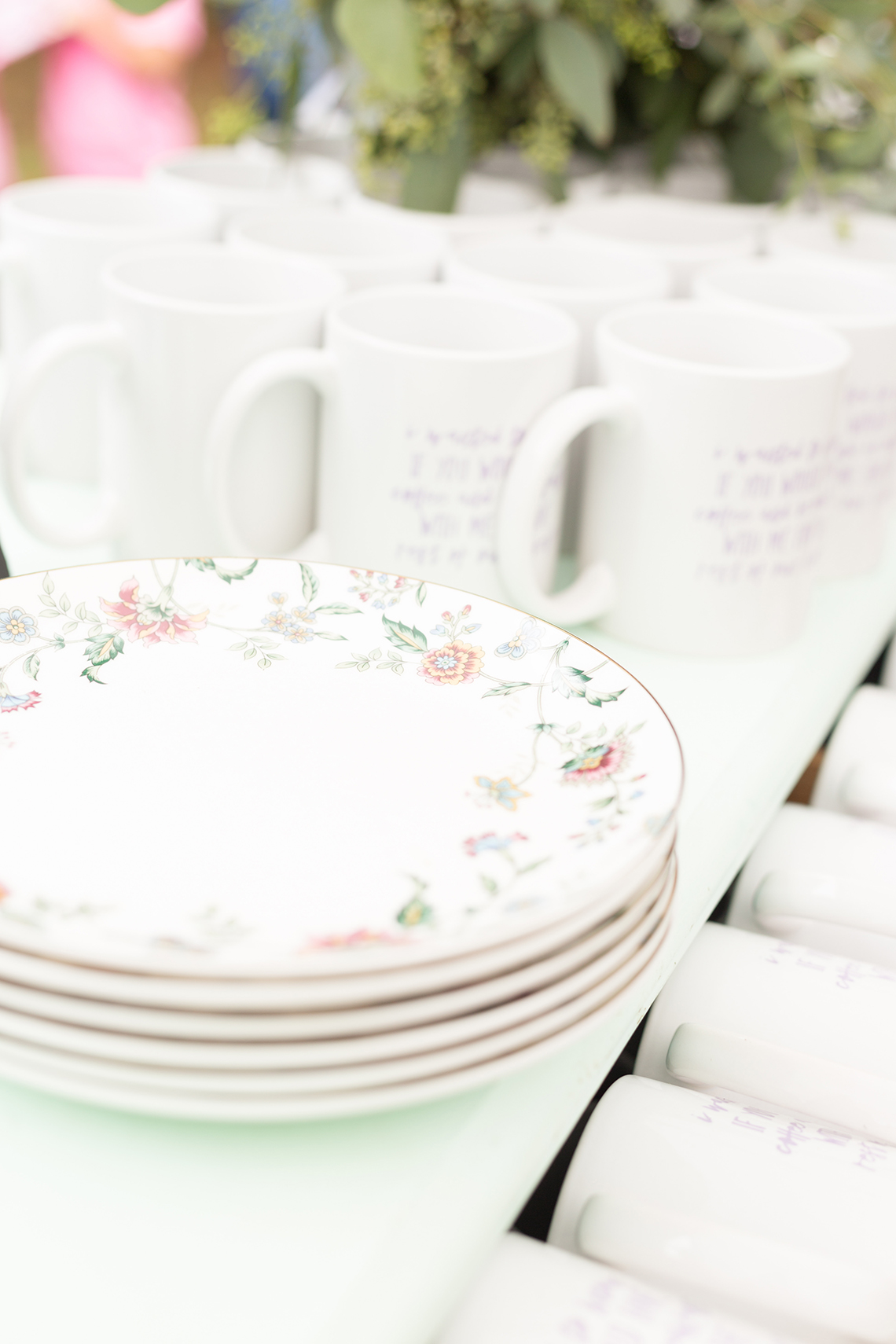 Misty Romantic Breakfast Wedding with Waffles – Cindy and Emily Photography 23
