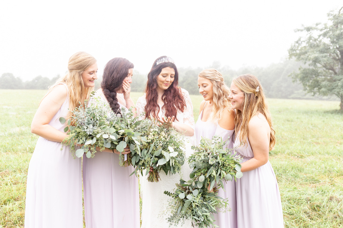 Misty Romantic Breakfast Wedding with Waffles – Cindy and Emily Photography 4