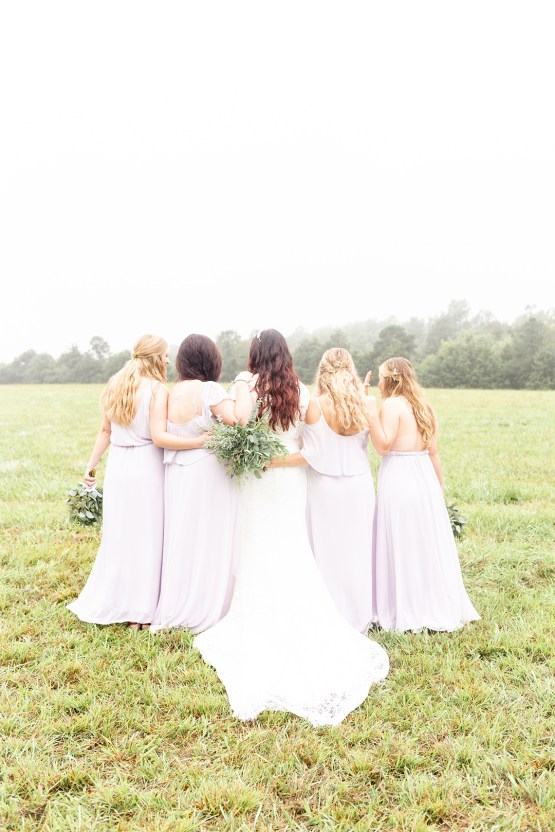 Misty Romantic Breakfast Wedding with Waffles – Cindy and Emily Photography 9