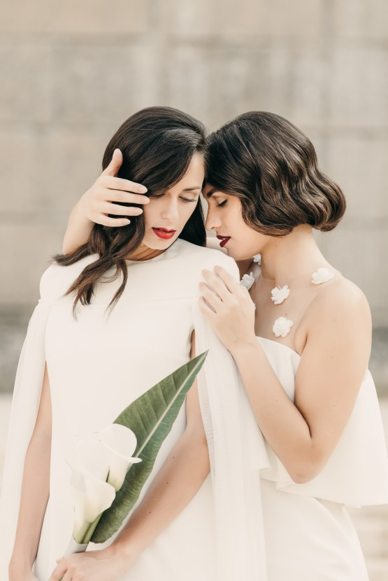Sleek and Sexy Modern Wedding Inspiration in Emerald – Marcella Cistola 12