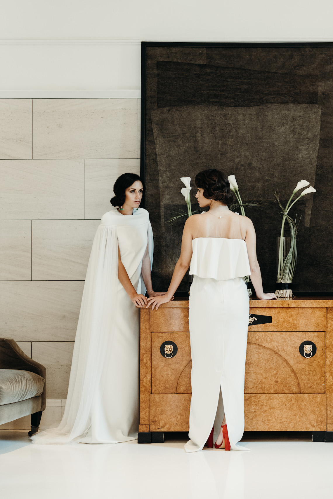 Sleek and Sexy Modern Wedding Inspiration in Emerald – Marcella Cistola 33